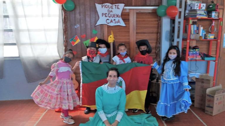 Atividades na Escola homenageiam Semana Farroupilha