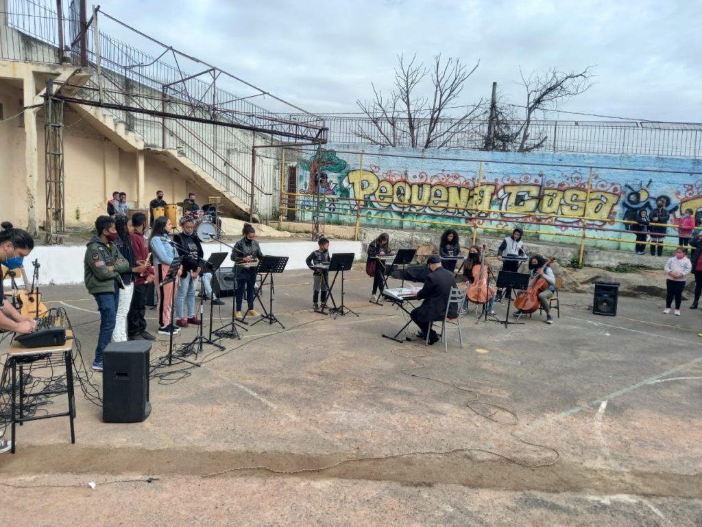 Homenagem da Orquestra no Aniversário de 65 anos 2