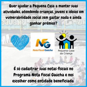 Nota Fiscal Gaúcha doação